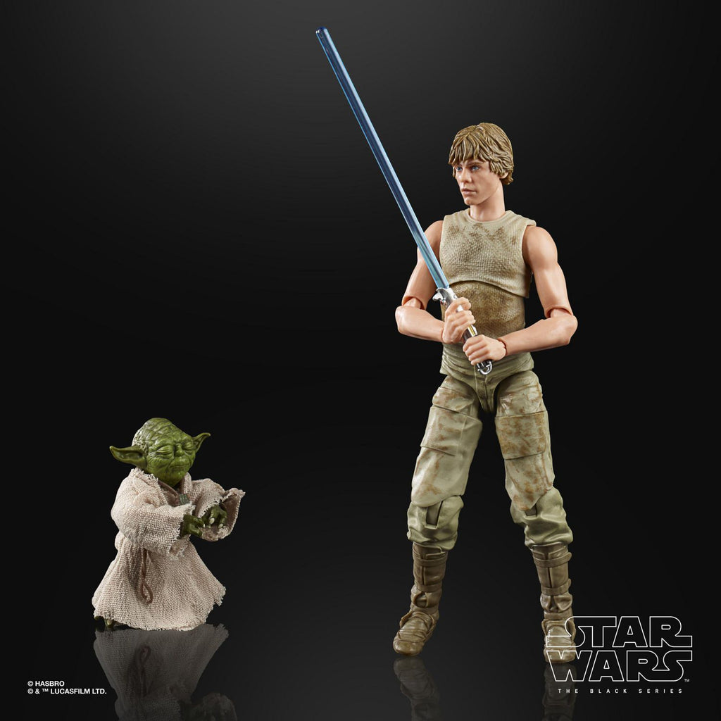 Star Wars: The Black Series - The Empire Strikes Back 40th - Luke Skywalker & Yoda (Jedi Training) Action Figure (E9642)