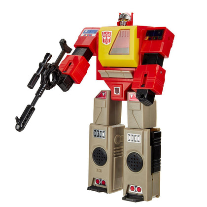 Hasbro - Transformers Vintage G1 Reissue - Autobot Blaster Collectible Action Figure (E7833)