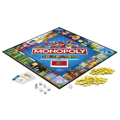 Hasbro Gaming - Monopoly Super Mario Celebration! Edition Board Game