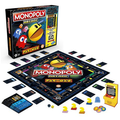 Hasbro Gaming - Monopoly Arcade: Pac-Man Edition Board Game