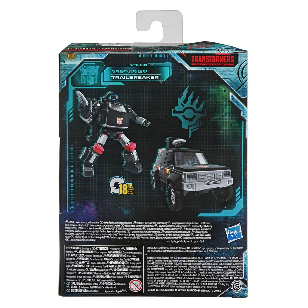 Transformers - War for Cybertron: Earthrise - Trailbreaker Action Figure WFC-E34 (E8207)
