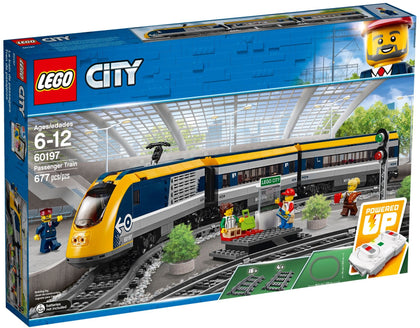 LEGO City - Passenger Train (60197) Powered Up Building Toy