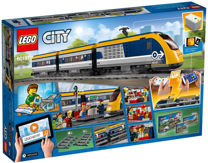 LEGO - City - Passenger Train + Motorized Engine + Powered Up + Remote (60197)