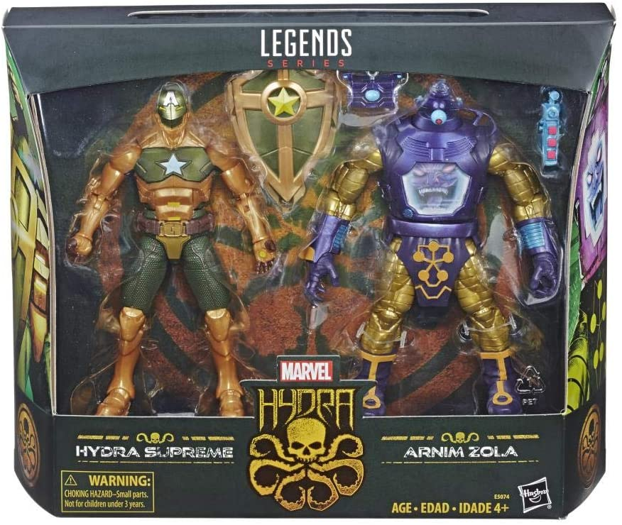 Marvel Legends - Hydra - Hydra Supreme & Arnim Zola Action Figures (E5074)