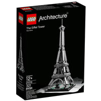 LEGO Architecture Building Set - Landmark Series - The Eiffel Tower (21019) RETIRED