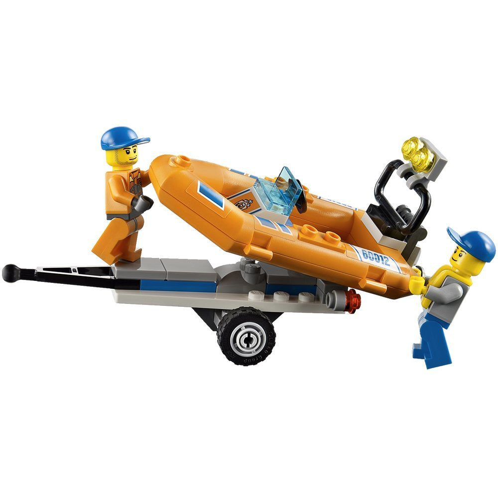 LEGO City - Coast Guard 4x4 & Diving Boat (60012) Building Toy RETIRED