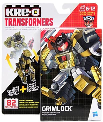 KRE-O Transformers - Kreon Battle Changer - Grimlock (B0718) Building Toy