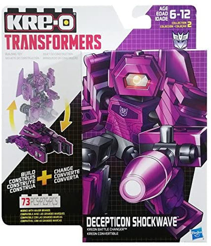 KRE-O Transformers - Kreon Battle Changer - Decepticon Shockwave (B2690) Building Toy
