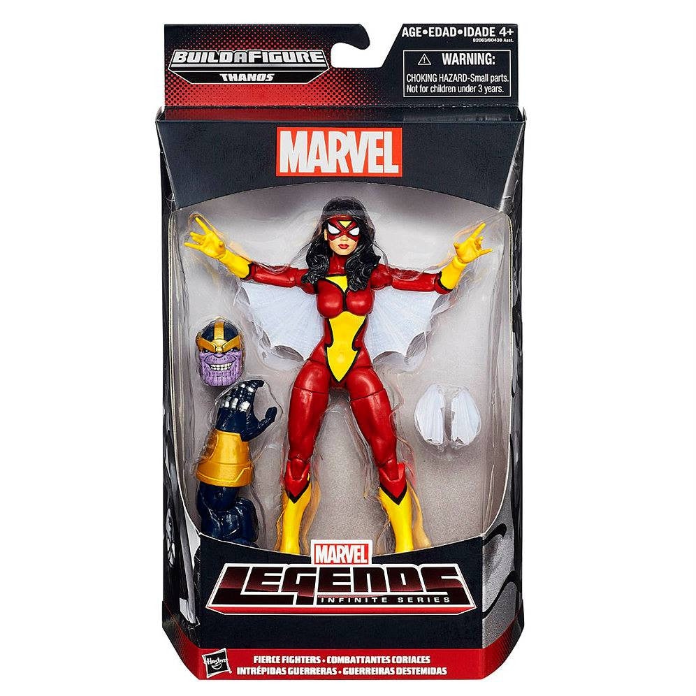 Marvel Legends Infinite - Thanos BAF - Avengers: Age of Ultron - Fierce Fighters - Spider-Woman (B2063)