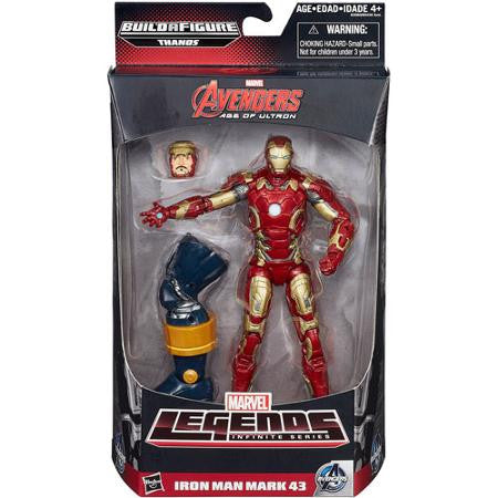 Marvel Legends Infinite - Thanos BAF - Avengers: Age of Ultron - (Movie) Iron Man Mark 43 XLIII