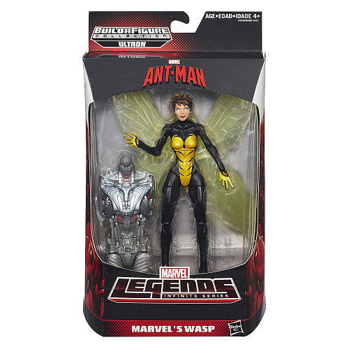 Marvel Legends - Ultron BAF - Ant-Man Series - Marvel's Wasp Action Figure (B3295)