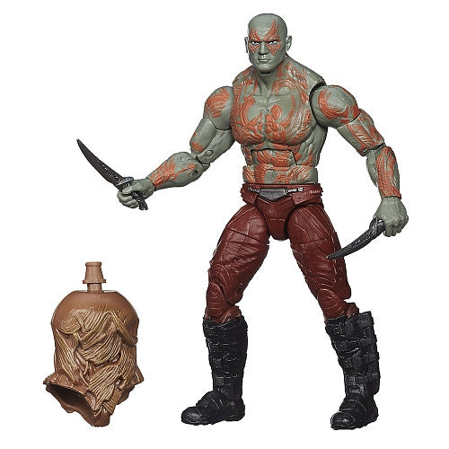 Marvel Legends Infinite - Groot BAF - Guardians of the Galaxy - Drax