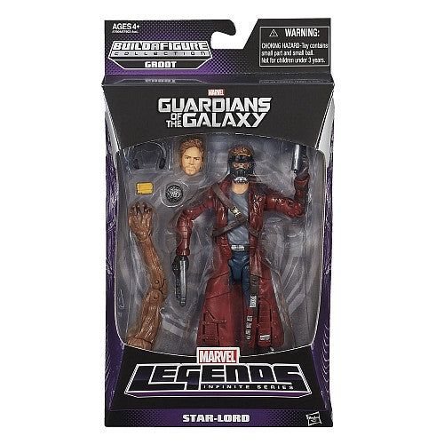 Marvel Legends Infinite - Groot BAF - Guardians of the Galaxy - Star-Lord (A7904)