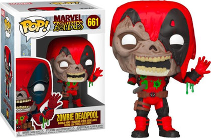 Funko Pop! Marvel #661 - Marvel Zombies - Zombie Deadpool Vinyl Figure