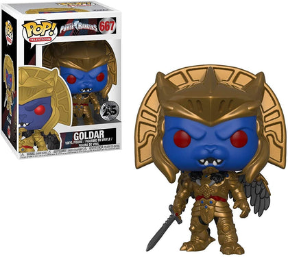 Funko Pop! Television - Saban's Power Rangers #667 - Goldar Vinyl Figure