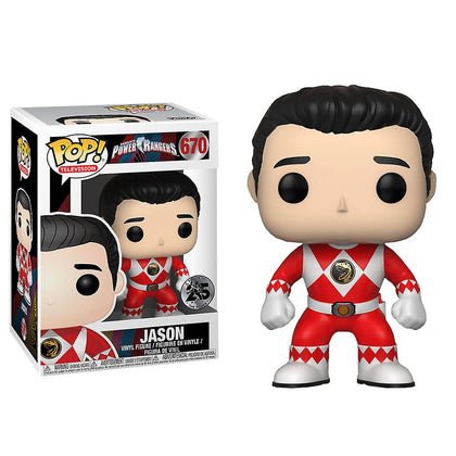 Funko Pop! Television - Saban's Power Rangers #670 - Jason Vinyl Figure