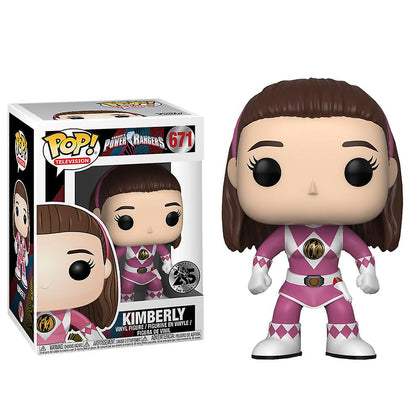 Funko Pop! Television - Saban's Power Rangers #671 - Kimberly Vinyl Figure
