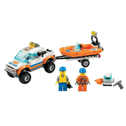 LEGO City - Coast Guard 4x4 & Diving Boat (60012)