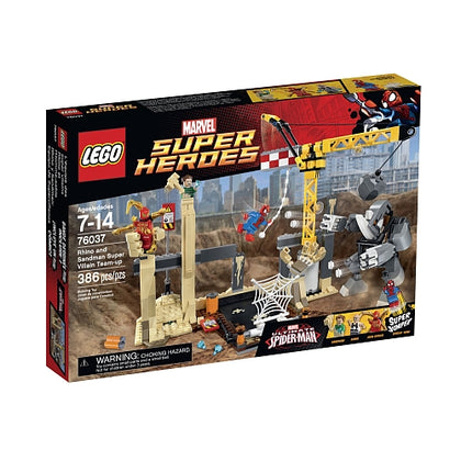 LEGO Marvel Super Heroes - Rhino and Sandman Super Villain Team-up (76037) Building Toy