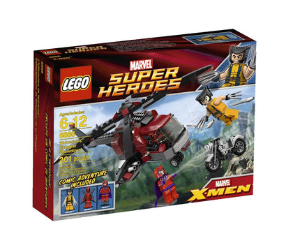 LEGO Marvel Super Heroes - X-Men - Wolverine's Chopper Showdown (6866)