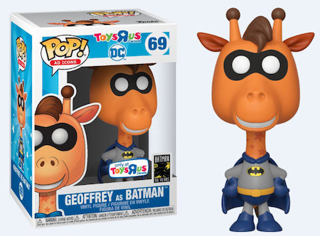 Funko Pop! Ad Icons - ToysRUs Canada #69 - Geoffrey As Batman Vinyl Figure
