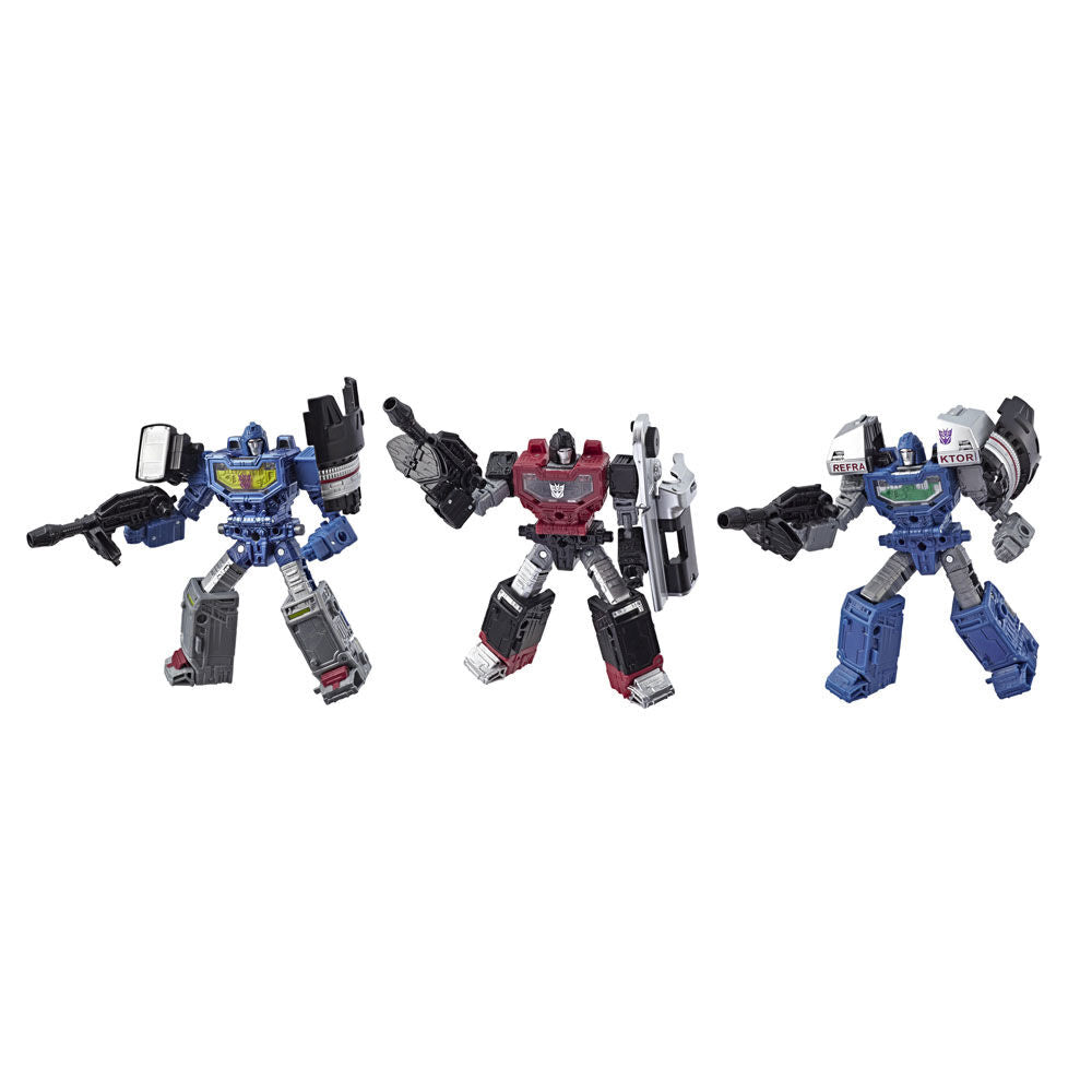 Transformers - War for Cybertron: SIEGE - Refraktor Reconnaissance Team 3-Pack Exclusive RARE!