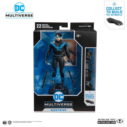 McFarlane Toys - DC Multiverse - The Batmobile BAF - Nightwing - Better Than Batman Action Figure
