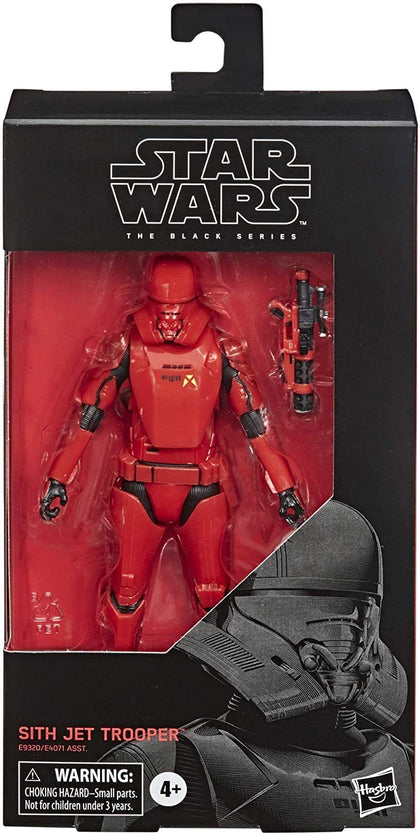 Star Wars - The Back Series #106 - Star Wars: The Rise of Skywalker - Sith Jet Trooper (E9320) Action Figure