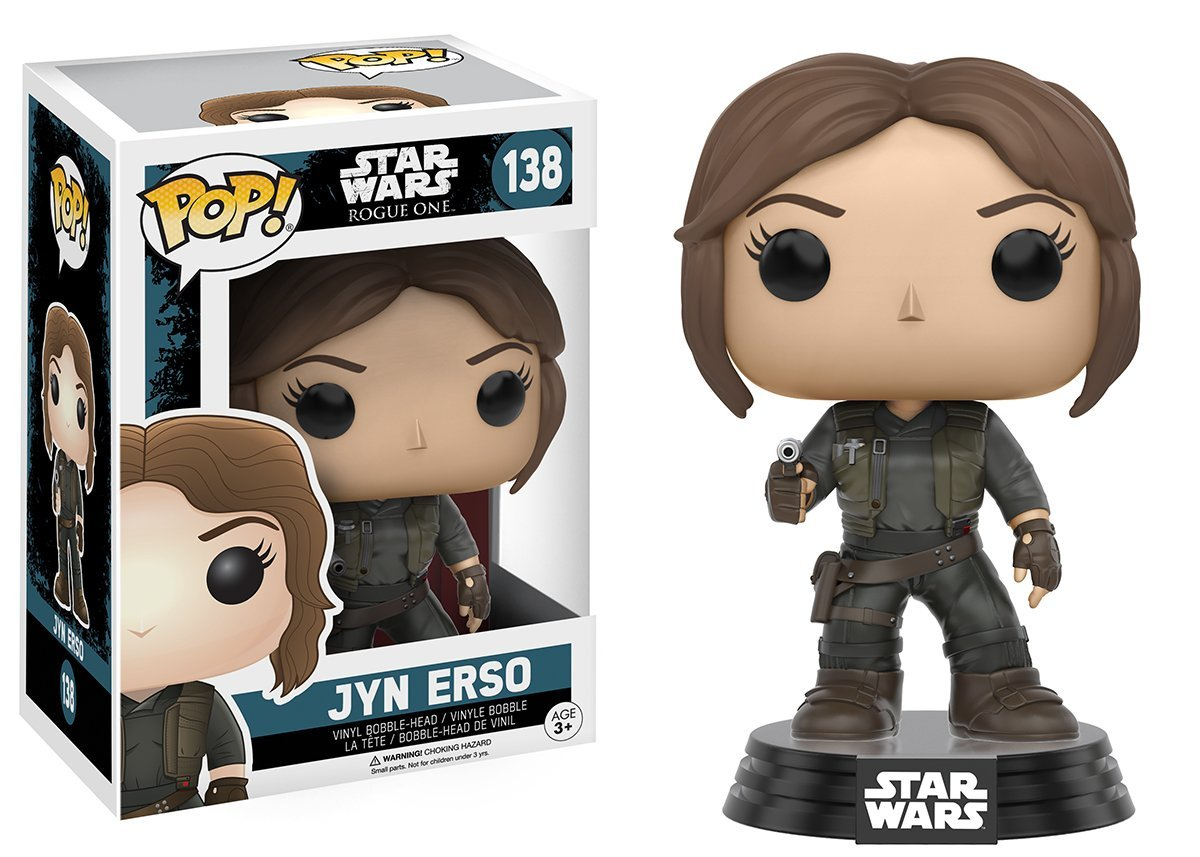 Funko Pop! - Star Wars - #138 - Jyn Erso Vinyl Figure