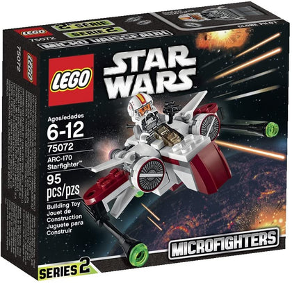 LEGO Star Wars - Microfighters - ARC-170 Starfighter (75072) Retired Building Toy