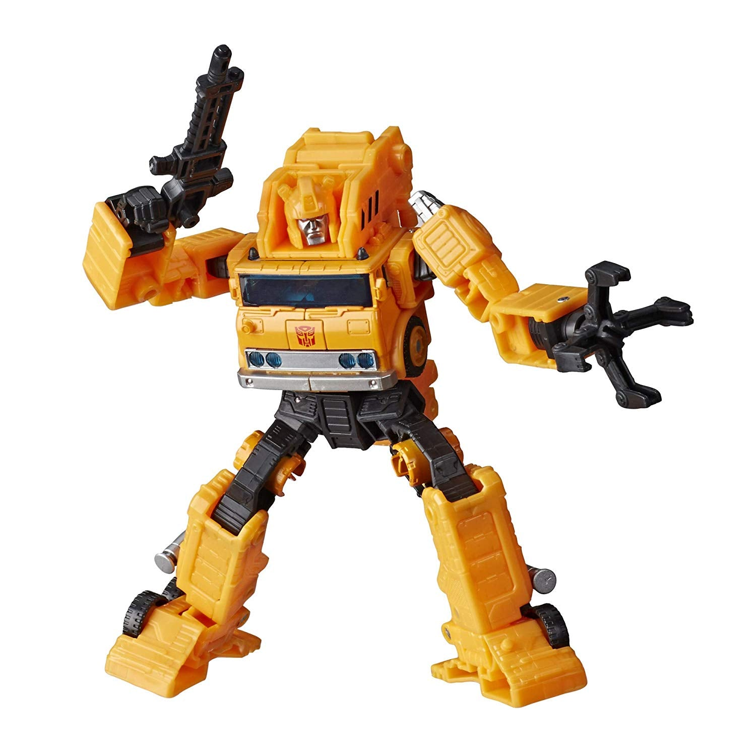 Transformers Generations - War for Cybertron: Earthrise - Grapple Action Figure (WFC-E10)