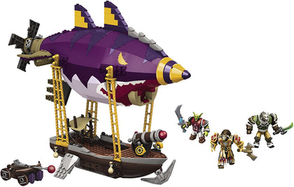 Mega Bloks - World of Warcraft - Goblin Zeppelin Ambush Construction Set (91014) Retired
