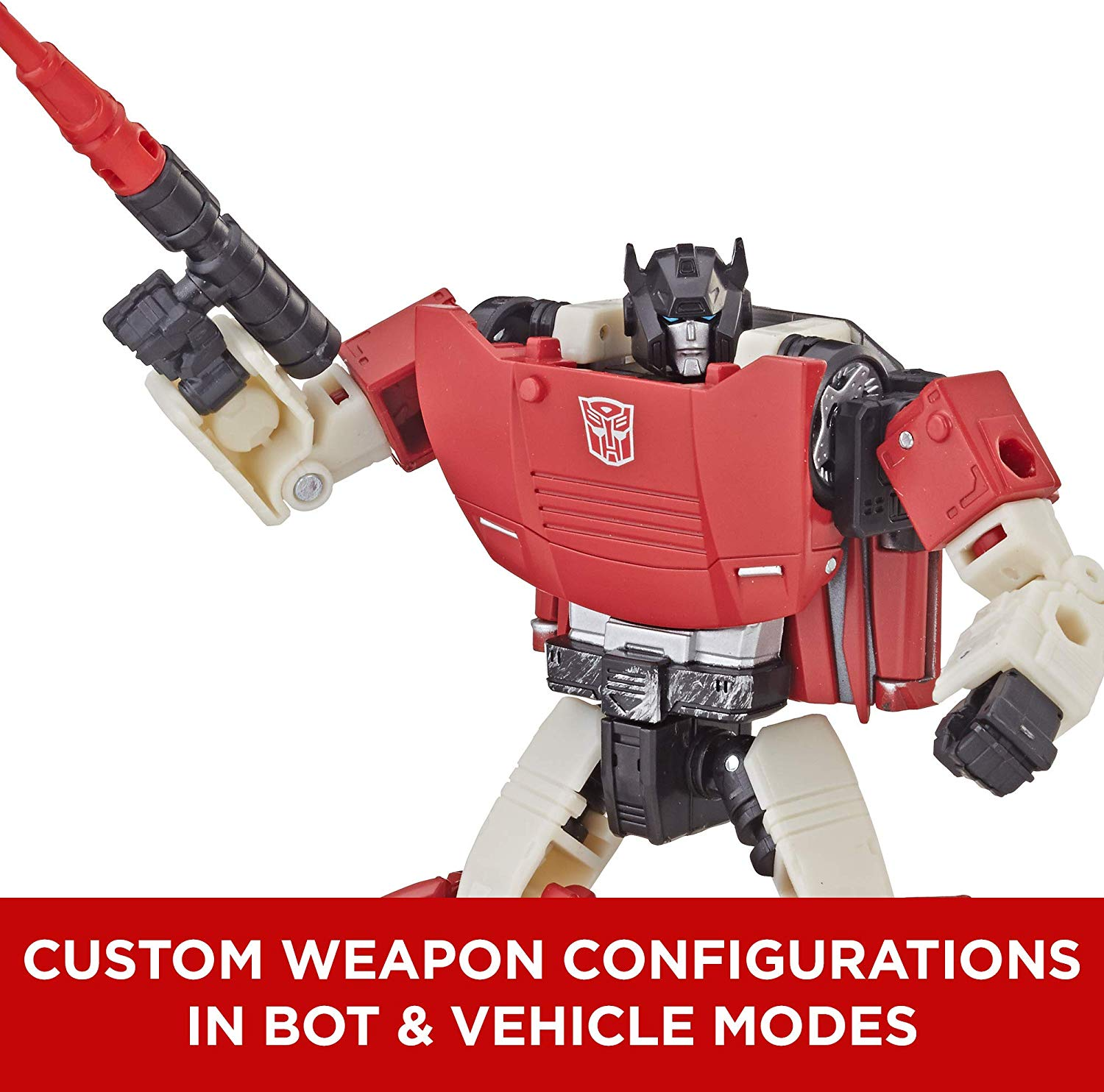 Transformers - War for Cybertron: SIEGE - Sideswipe Action Figure (WFC-S7)