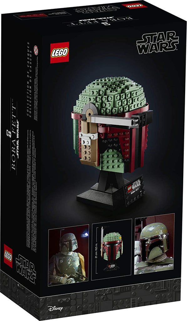 LEGO Star Wars - Boba Fett Helmet (75277) Building Toy