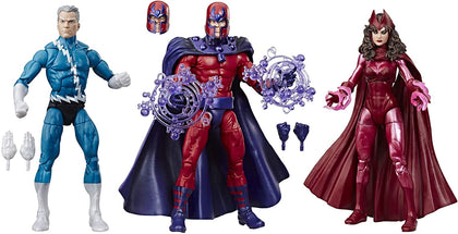 Marvel Legends - X-Men: Family Matters 3-Pack - Quicksilver, Magneto & Scarlet Witch (E5168) Figures