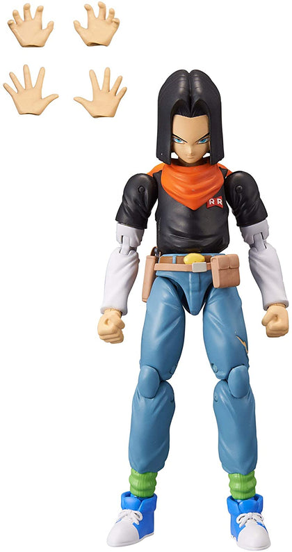 Dragon Ball Super - Dragon Stars Series - Android 17 Action Figure (36183)
