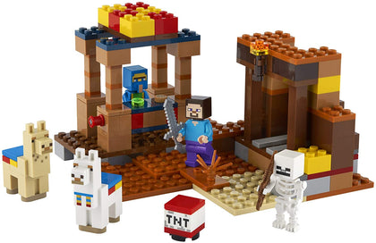 LEGO Minecraft - The Trading Post (21167) Building Toy