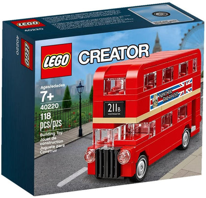 LEGO Creator - London Bus (Mini) (40220) Building Toy