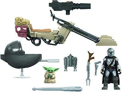 Star Wars: Mission Fleet - The Mandalorian - Battle for the Bounty (E9680) Play Set