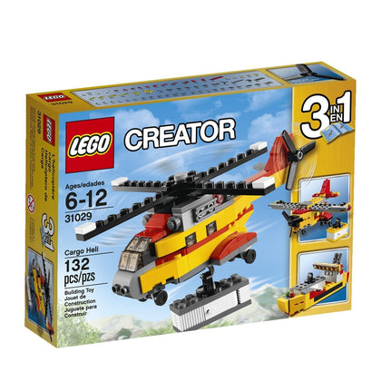 LEGO Creator 3-in-1 - Cargo Heli (31029) Building Toy RETIRED