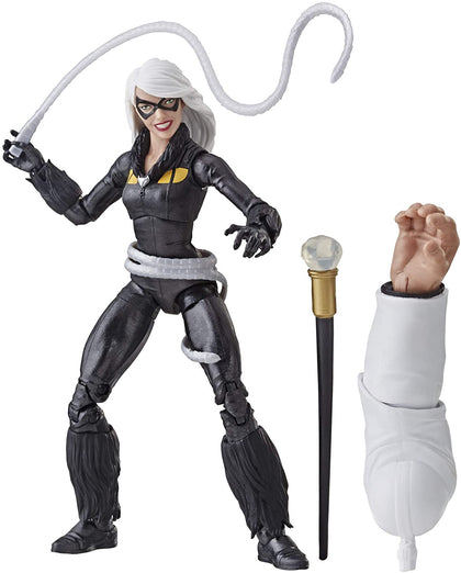 Marvel Legends - Marvel's Kingpin BAF - Spider-Man - Marvel's Black Cat Action Figure (E3951)