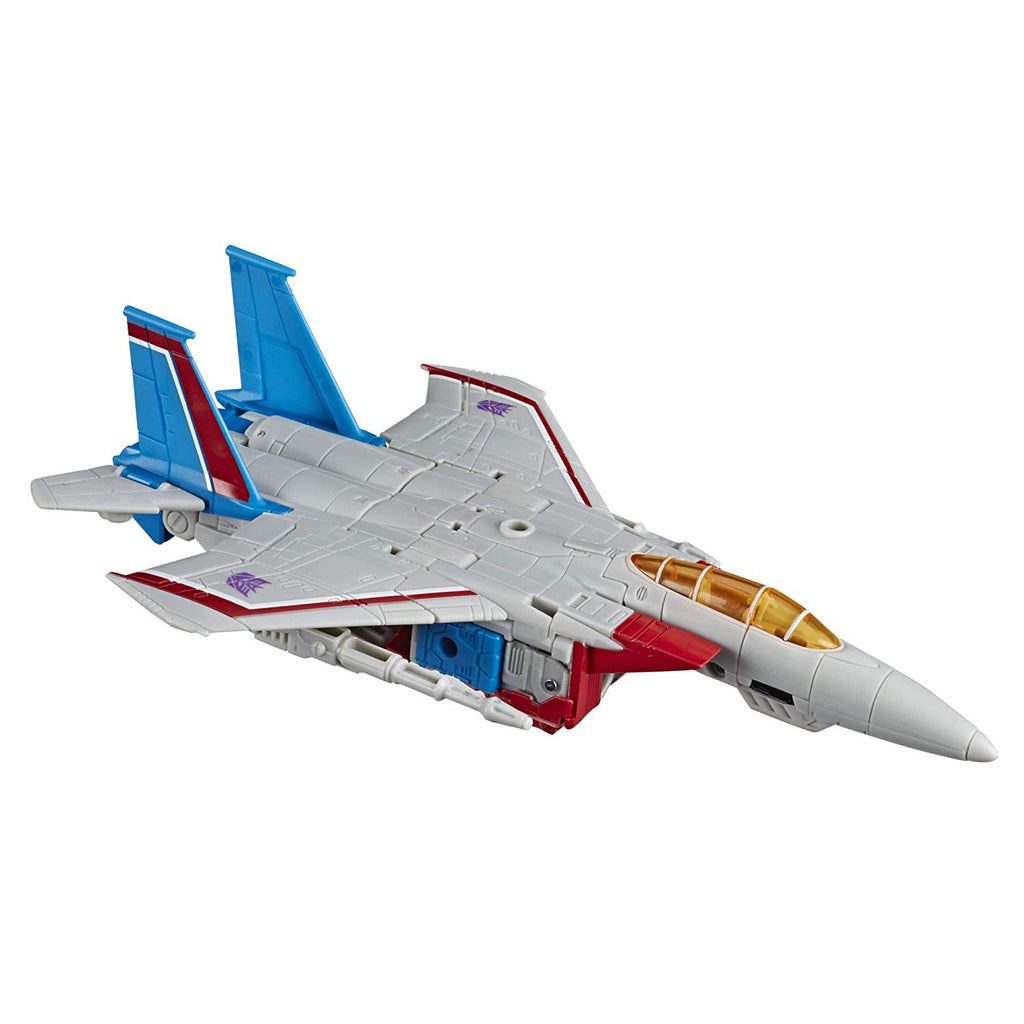 Transformers Generations - War for Cybertron: Earthrise - Starscream Action Figure (WFC-E9)