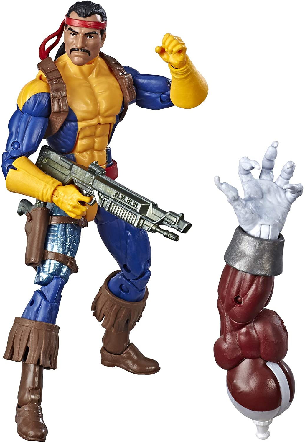 Marvel Legends - X-Men - Caliban BAF - Marvel's Forge (Jim Lee Version) 6-inch Action Figure (E5327)