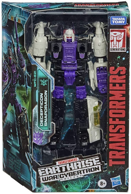 Transformers - War for Cybertron: Earthrise - Decepticon Snapdragon Action Figure (WFC-E21)