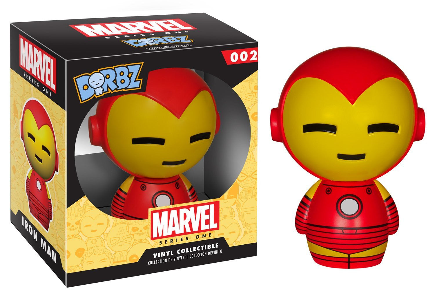 Funko Dorbz - Marvel Series 1 #002 - Iron Man Vinyl Figure