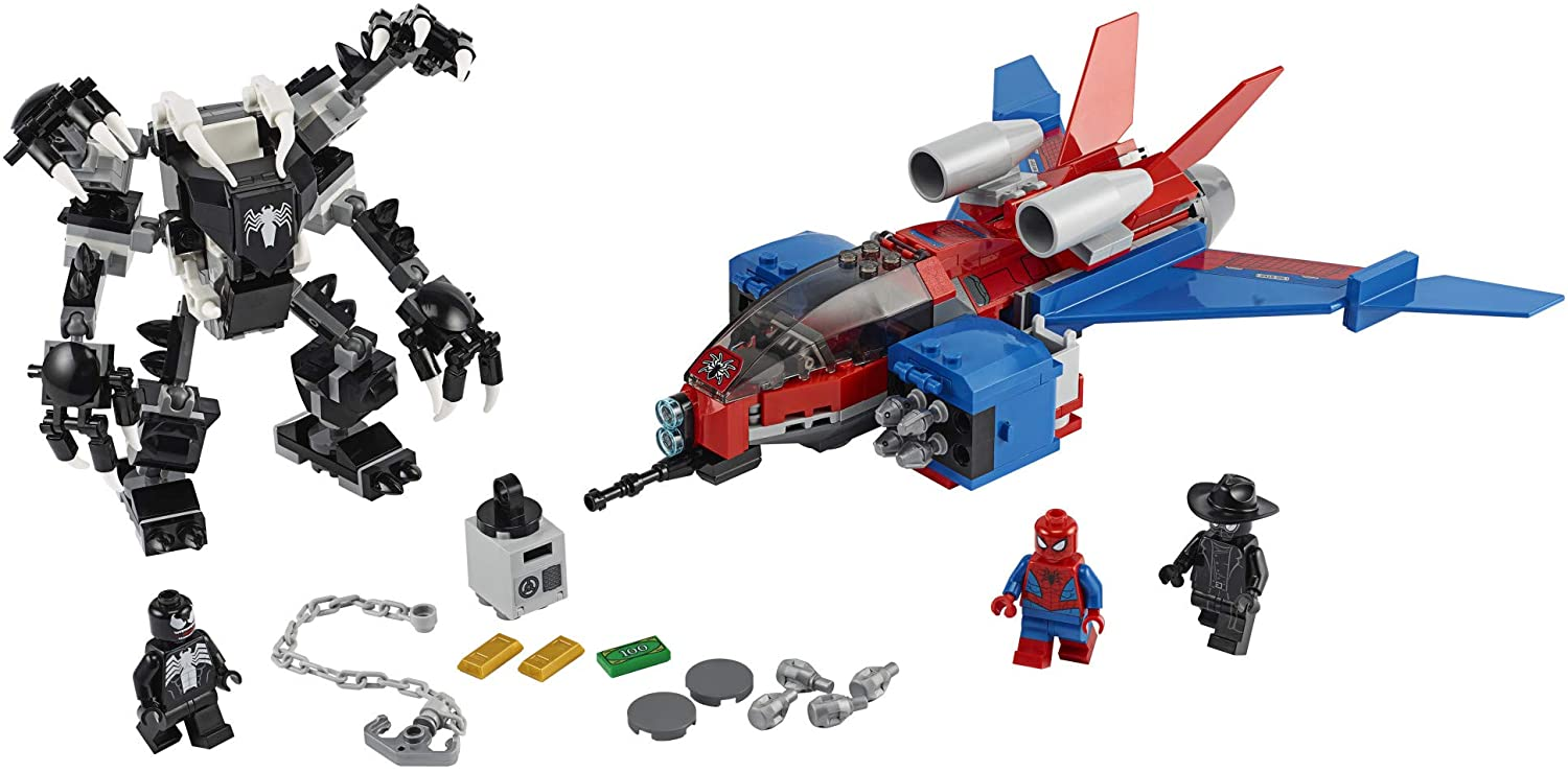 LEGO Marvel Spider-Man - Spiderjet vs. Venom Mech (76150) Building Toy