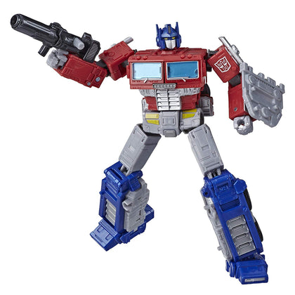 Transformers Generations - War for Cybertron: Earthrise - Optimus Prime Action Figure (WFC-E11)