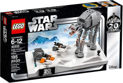 LEGO Star Wars - 20th Anniversary - Battle of Hoth™ Micro Build (40333)