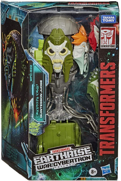Transformers Generations - War for Cybertron: Earthrise - Quintesson Judge Action Figure (WFC-E22)
