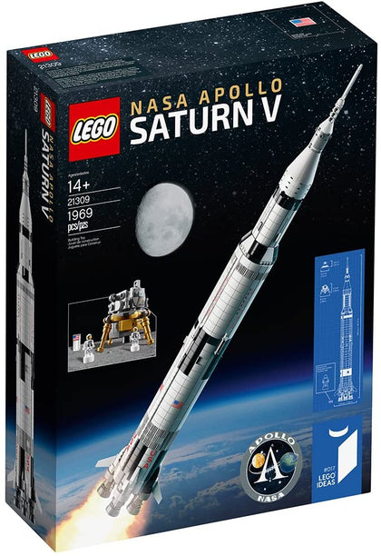 LEGO Ideas 017 - NASA Apollo Saturn V (21309) Building Toy